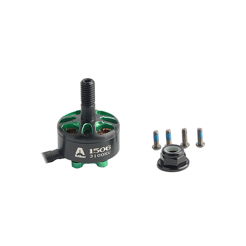 4 PCS Flashhobby Arthur A1506 1506 4300KV 3-4S Brushless Motor 5mm Shaft for RC Drone FPV Racing