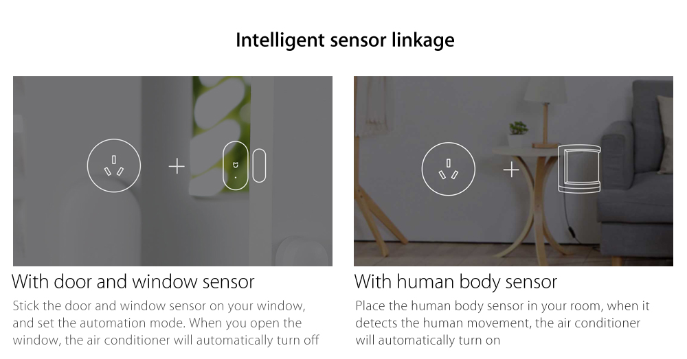 Xiaomi Mijia Air Conditioner Companion Smart Socket Switch with Gateway Function WiFi Power Monitor APP Remote Control