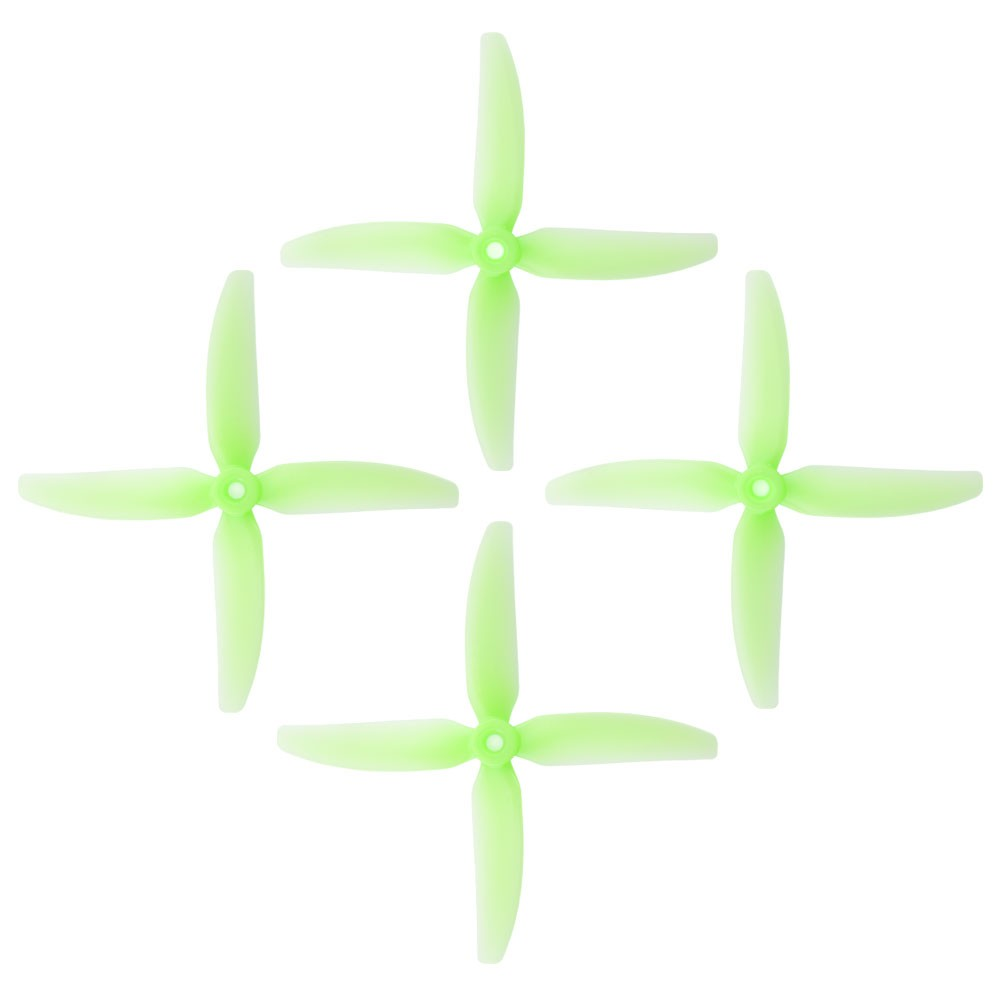 2 Pairs HQProp DP5X4X4V1S Durable 5040 5x4 5 Inch 4-Blade Propeller for RC Drone FPV Racing - Photo: 3