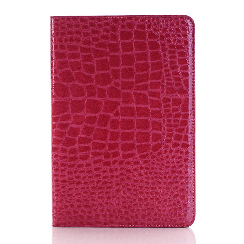 Crocodile Pattern PU Leather Flip Fold Card Slot Wallet Stand Tablet Case For iPad Pro 9.7 inch