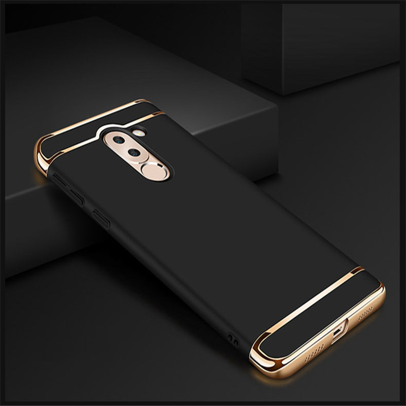 Bakeey Ultra-thin 3 in 1 Plating Frame Splicing PC Hard Protective Case For Xiaomi Pocophone F1