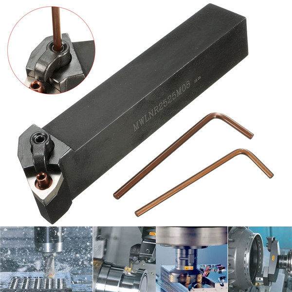 MWLNR2525M08 25x25x150mm Lathe Turning Tool Holder For WNMG0804 Carbide Inserts