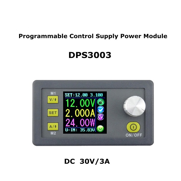 RUIDENG DPS3003 32V 3A Buck Adjustable DC Constant Voltage Power Supply Module Integrated Voltmeter Ammeter With Color Display