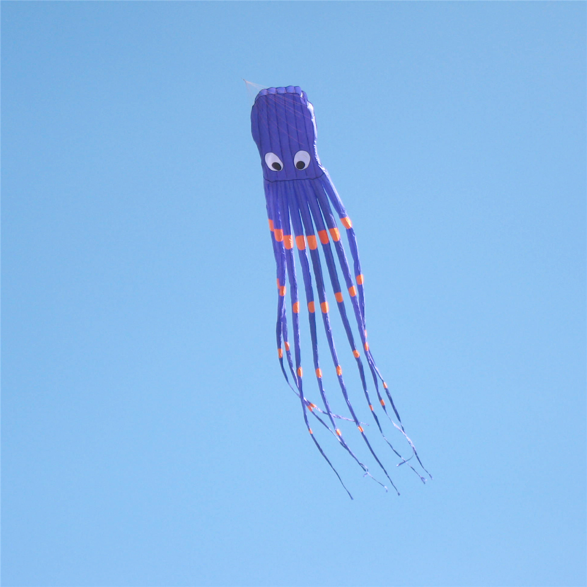 35Inches Octopus Kite Outdoor Sports Toys For Kids Single Line Parachute Toys