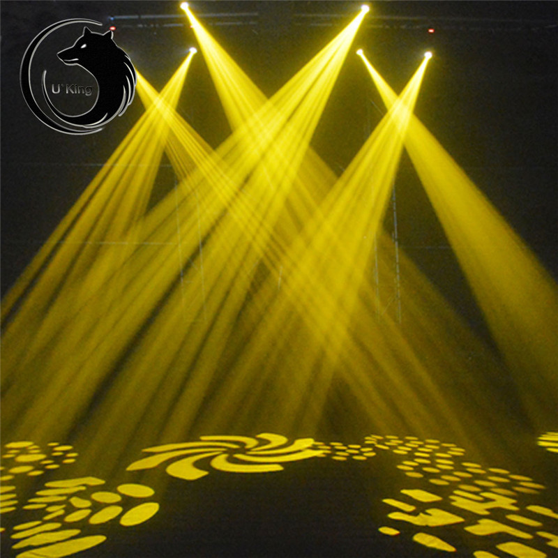 U`King 30W Voice Activated LED RGB Stage Light DMX512 Disco DJ KTV Bar Effect Xmas Lamp AC110-240V