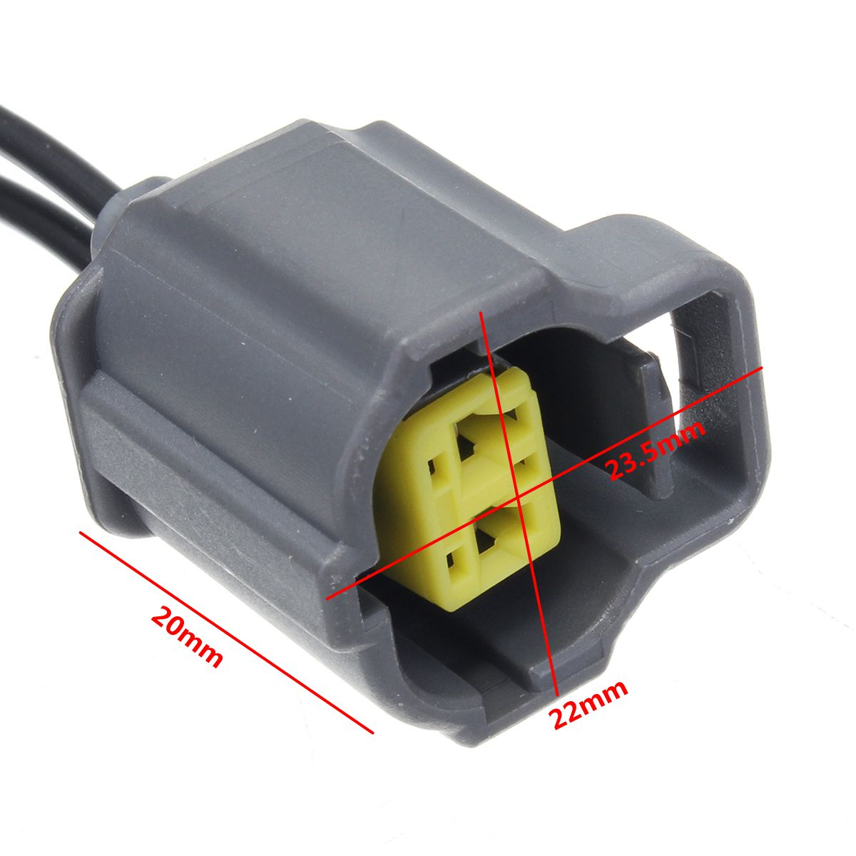 2 Wire Car Coolant Temperature Sensor Connector Engine For Toyota