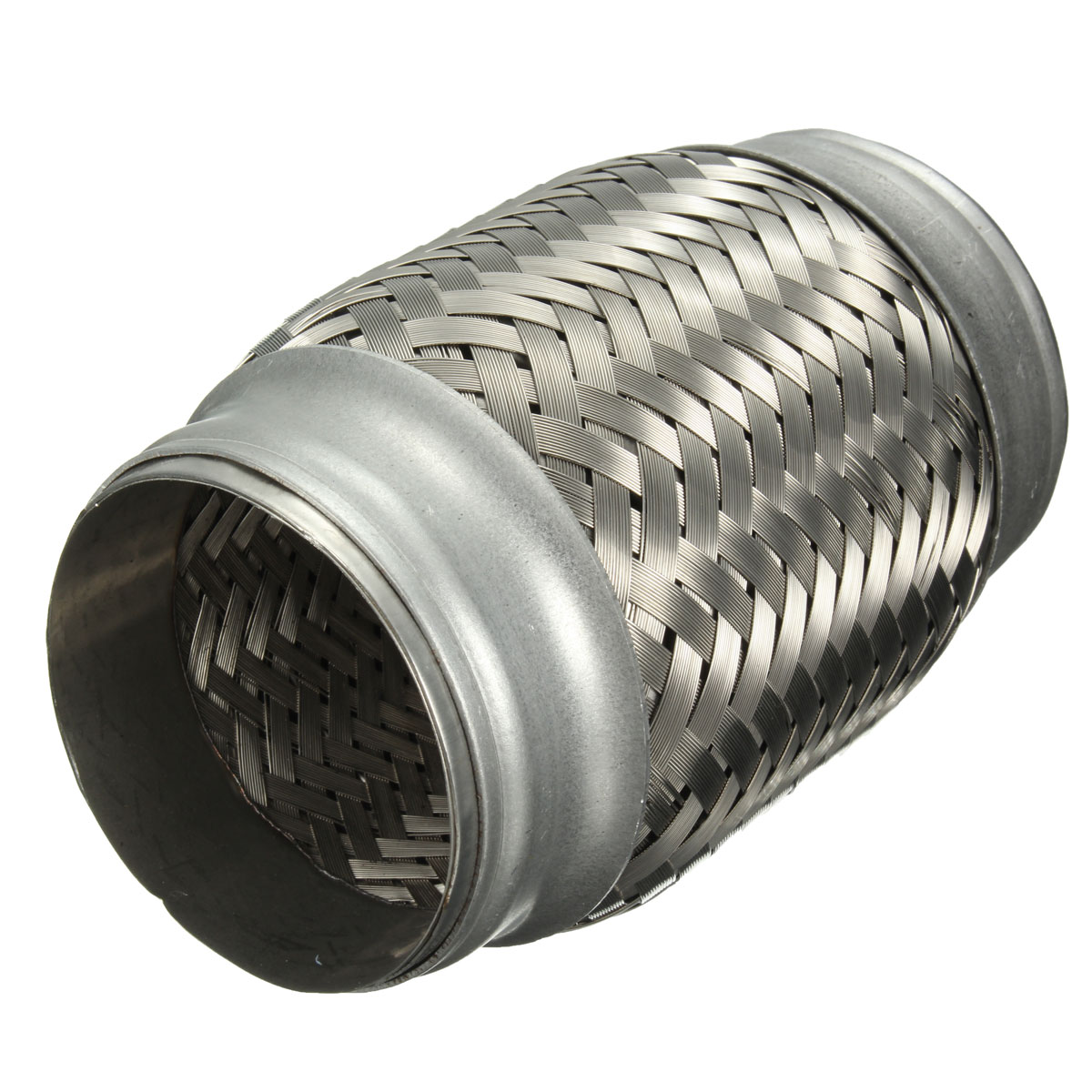 2.5x5 Inch Car Stainless Steel Exhaust Pipes Double Braided Flex Connector Adaptor (Eachine1) South Bend goods things