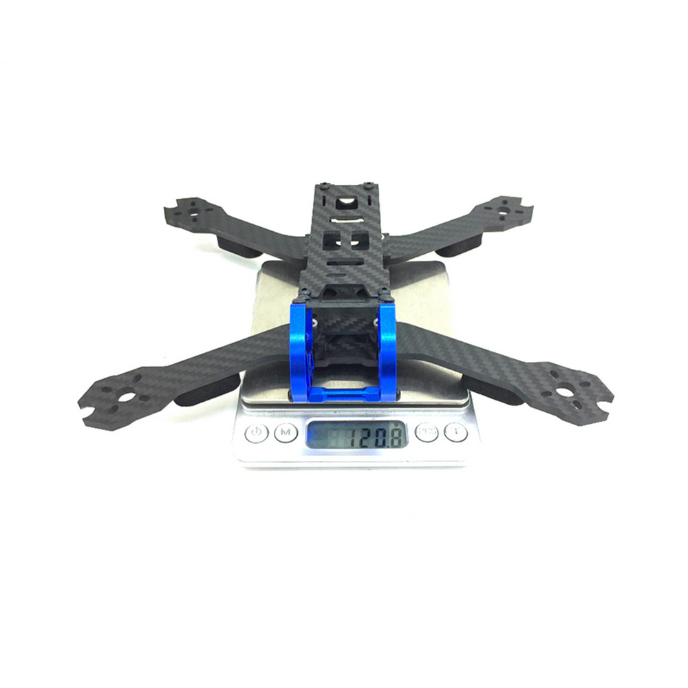 Mustang'5 225mm Wheelbase 5 Inch Carbon Fiber Frame Kit 4mm Arm for RC Drone FPV Racing - Photo: 7