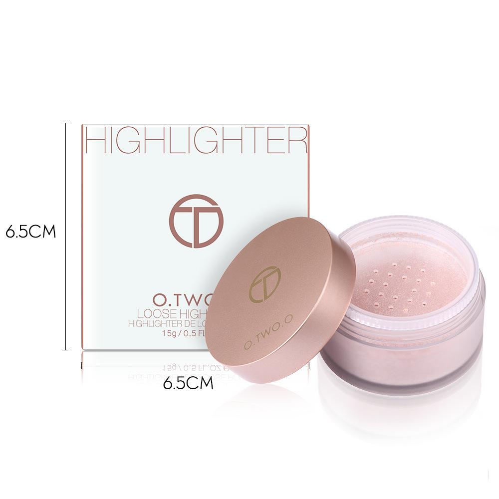 O.TWO.O Highlighter Loose Powder Brighten