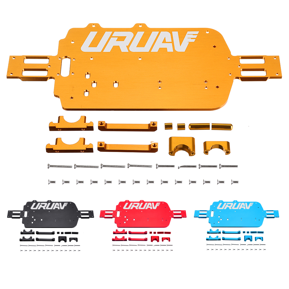 URUAV WLtoys Upgrade Metal Chassis For A949 A959B A969 A979 K929 RC Car Parts