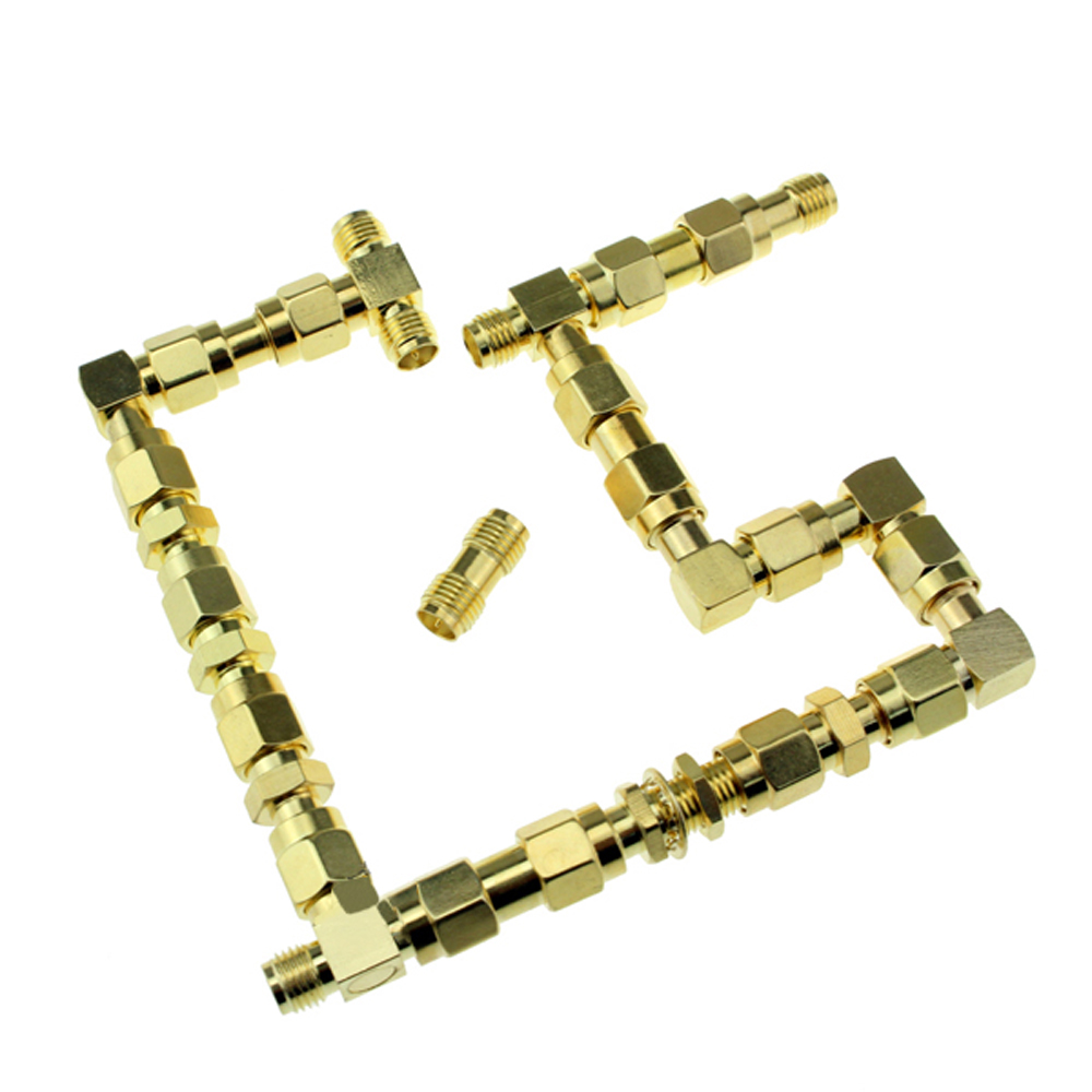 18pcs 1.2G 5.8G FPV Telemetry Antenna Adapter SMA RP-SMA Gain Antenna Connector - Photo: 4