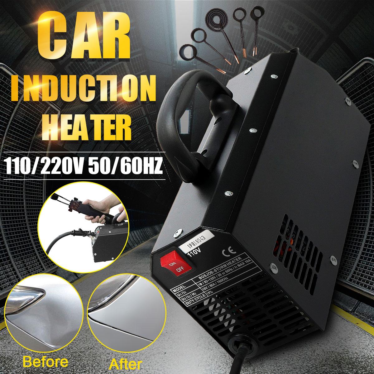 2000W 110V/220V Induction Heater Paintless Dent Repair Remover PDR Induction Heater Hot Box Remover