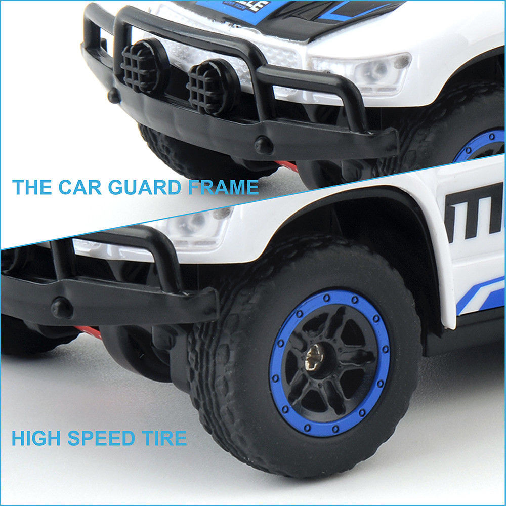 1PC HB Toys DK4301B 1/43 2.4G 4WD Rc Car Electric Short Course Truck Rally Vehicle RTR Model