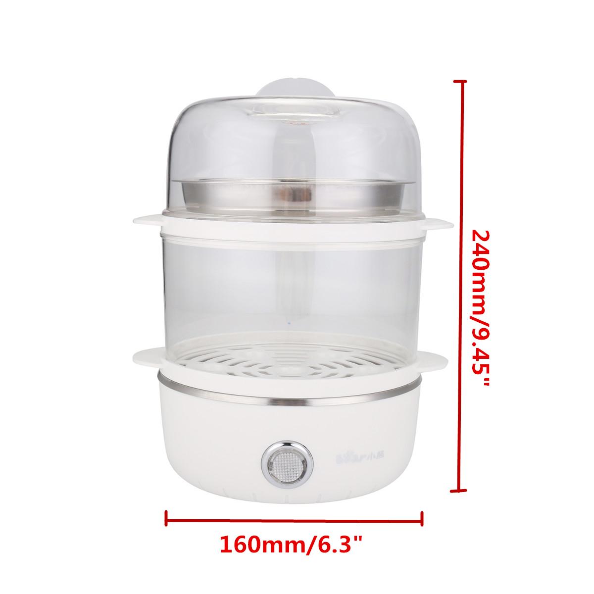 Bear 14 Egg Steamer Egg Boiler Multifunction Electric Cooker Steamer Kitchen Breakfast Maker