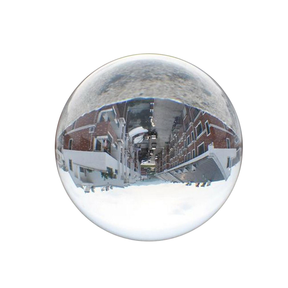 4 Colors Rare Quartz Magic Crystal Healing Ball Clear Crystal Ball With Stand Home Decor Gift