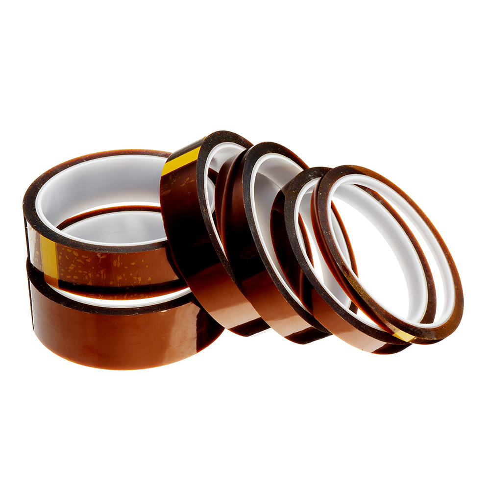 5mm-10mm-15mm-20mm-25mm-30mm High Temperature Polyimide Film Heat Resistant Tape For 3D Printer