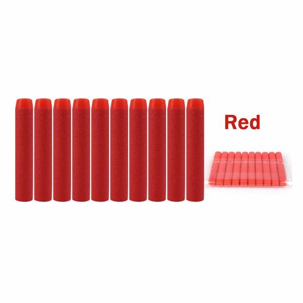 100PCS Red Refill Bullets Dart For Nerf N-strike Elite Rampage Retaliator Series Blasters