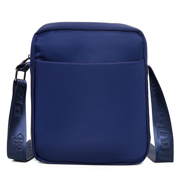 Men Nylon Large Capacity Waterproof Shoulder Bag