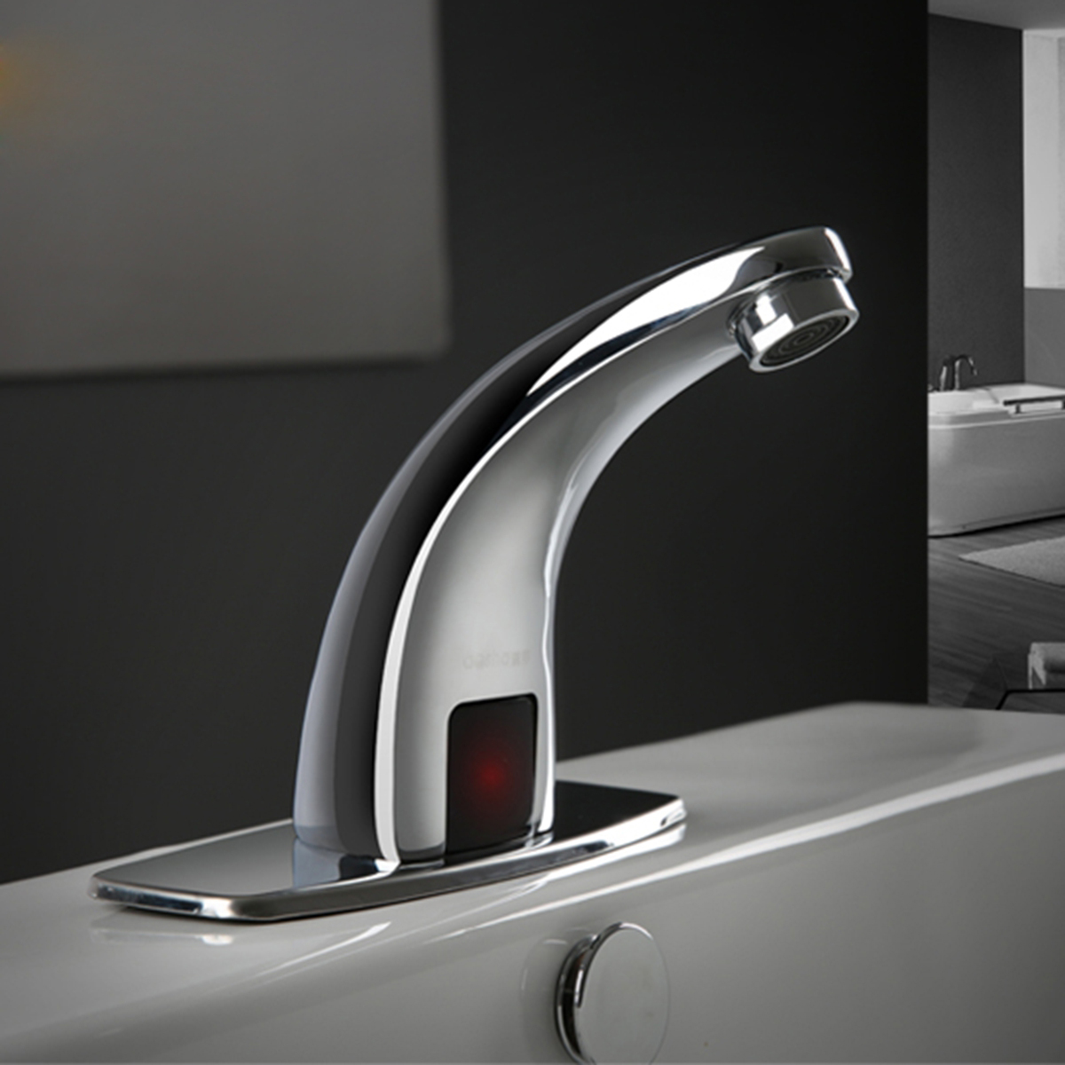 Automatic Touchless Bathroom Sink Faucet Commercial Hands Free Tap ...