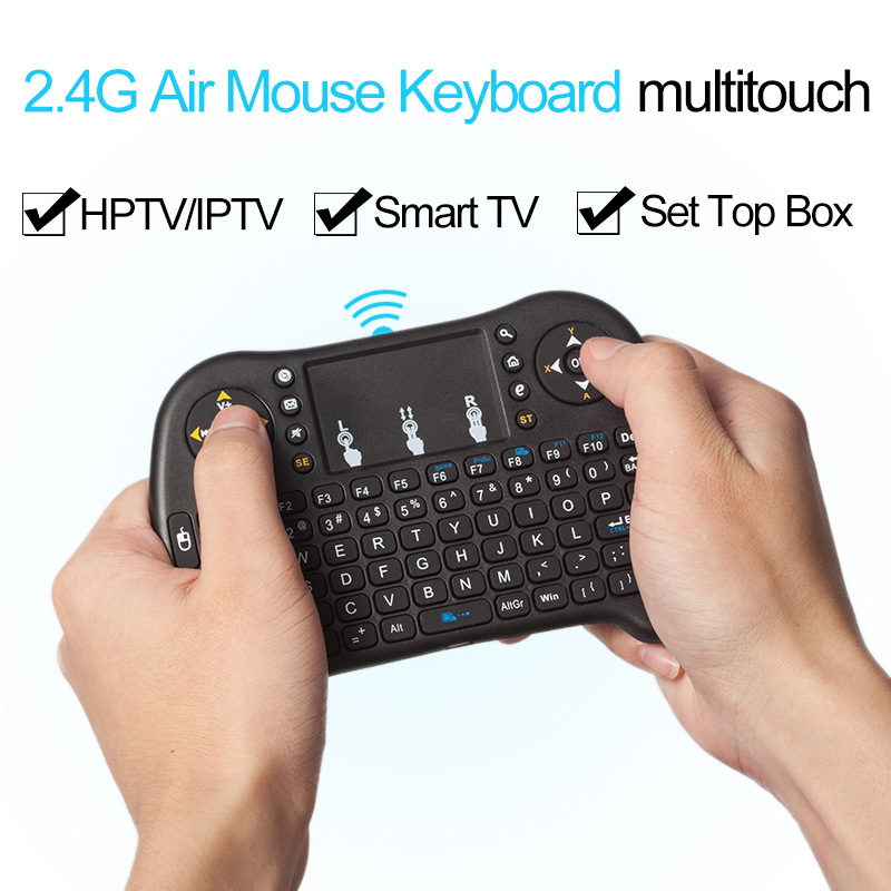 2.4G Wireless Mini Keyboard Touchpad Air Mouse for Android Windows TV Box