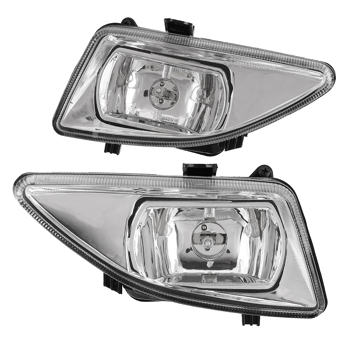 Left/Right Front Clear Bumper Car Fog Lights Lamp for Ford Fiesta MK5 1999-2002