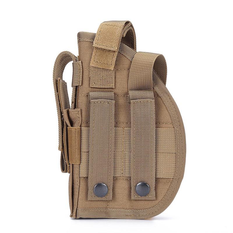 Handgun Holster Mollle Military Camouflage IWB OWB Tactical Holster For 92 1911 All Sizes Handguns