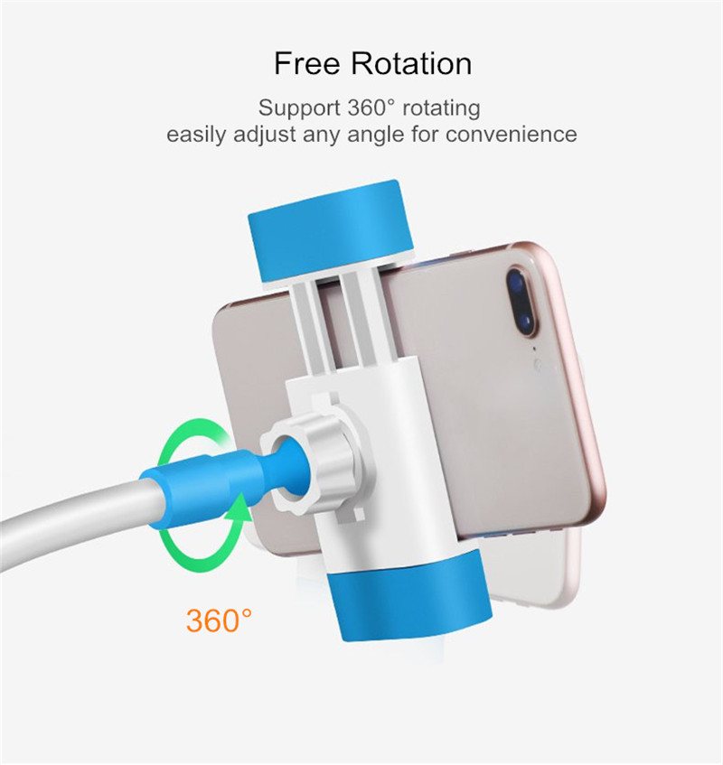 Universal 120mm Long Arm 360 Degree Rotation Lazy Holder Desktop Stand for Xiaomi Mobile Phone
