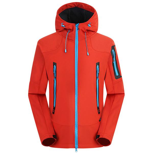 Waterproof Windproof Fleece Soft Shell Outdoor Jacket