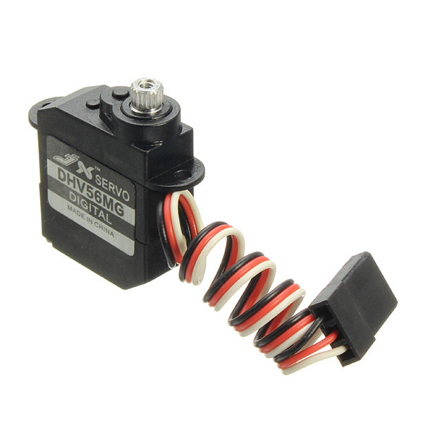JX Servo DHV56MG 5.6g DS Digital Coreless MG Metal Gear HV Servo 1.2kg 0.10sec