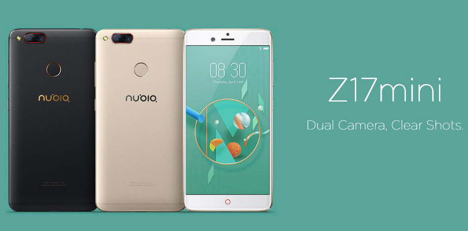 ZTE Nubia Z17 mini Gobal Version 5.2 inch 4GB 64GB Snapdragon 652 Octa core 4G Смартфон