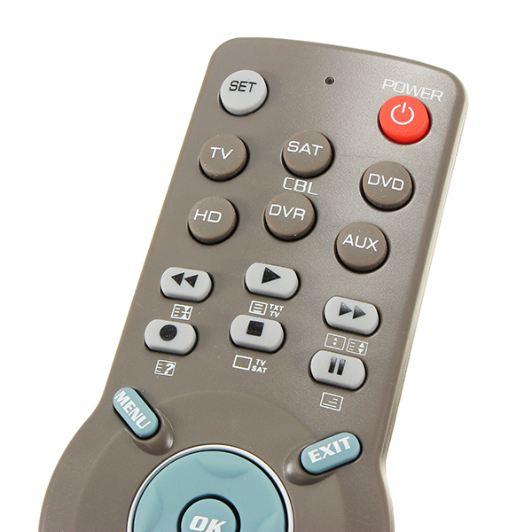 CHUNGHOP E661 6in1 Universal Learning Remote Control For TV CBL DVD AUX SAT AUD