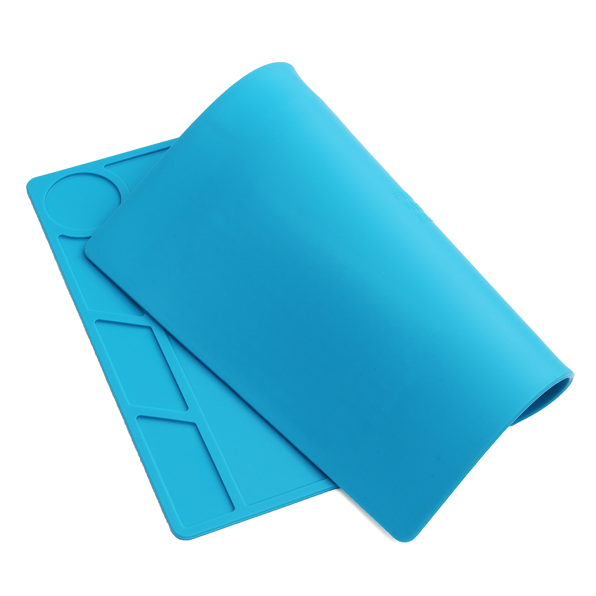 Anti Static Heat Insulation Silicone Pad Platform 34*23CM with Screw Positioning