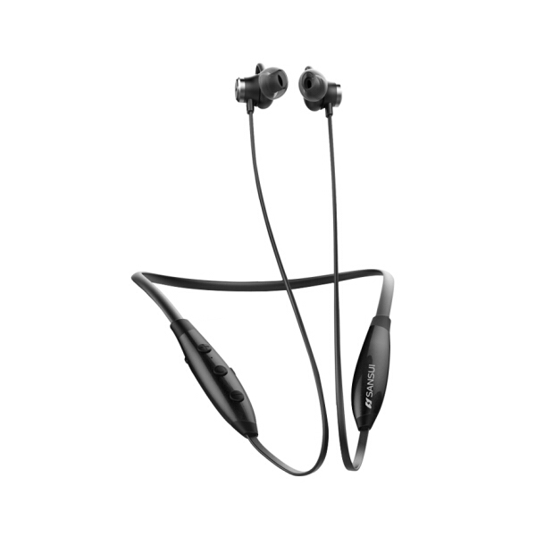 Sansui I28 bluetooth 4.2 ANC Noice Isolating Sport In-ear Earphone with Microphone Volume Control