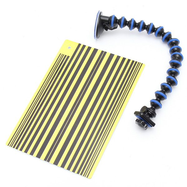 297x210mm Dent Repair Detection Tool With Suction Cup For Motorcycle Car