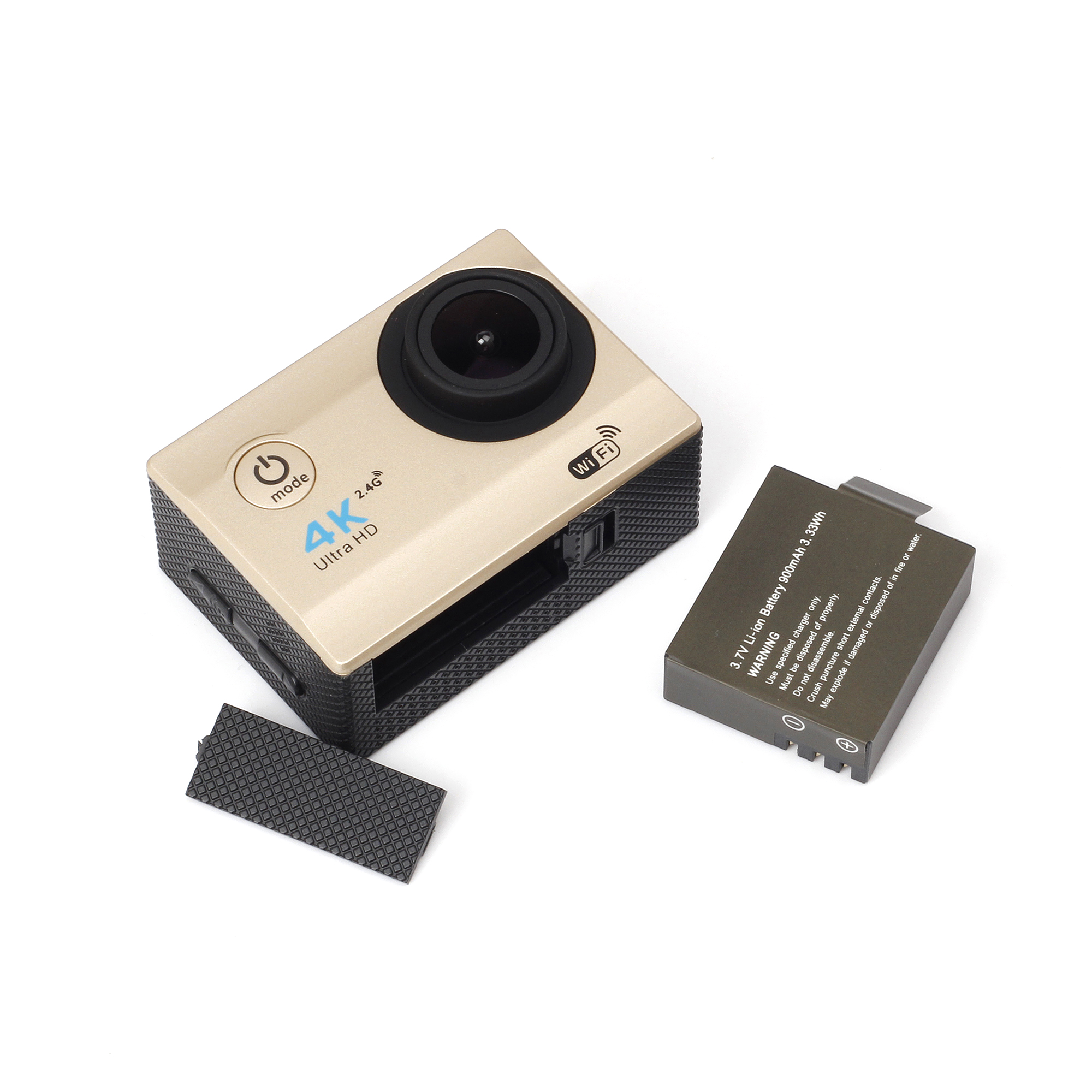 H16R Car DVR 120 Degree Lens Angle Action Camera 1080P HD Sports Camera With WiFi Control Function