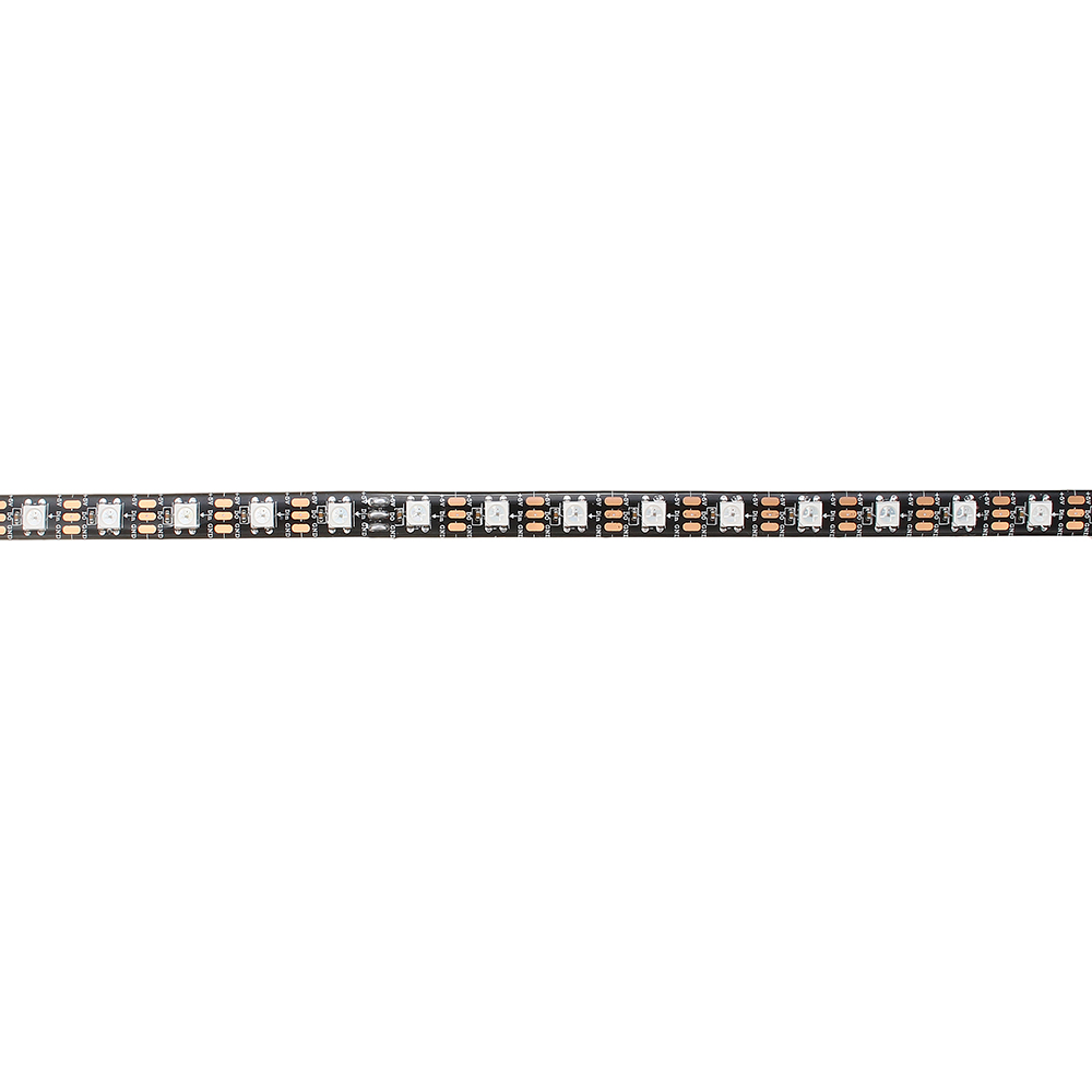 LUSTREON 1M 2M 3M 4M 5M IP65 60LEDs/M 5050 GRB GT2812 Magic Color Smart IC LED Strip Light DC5V