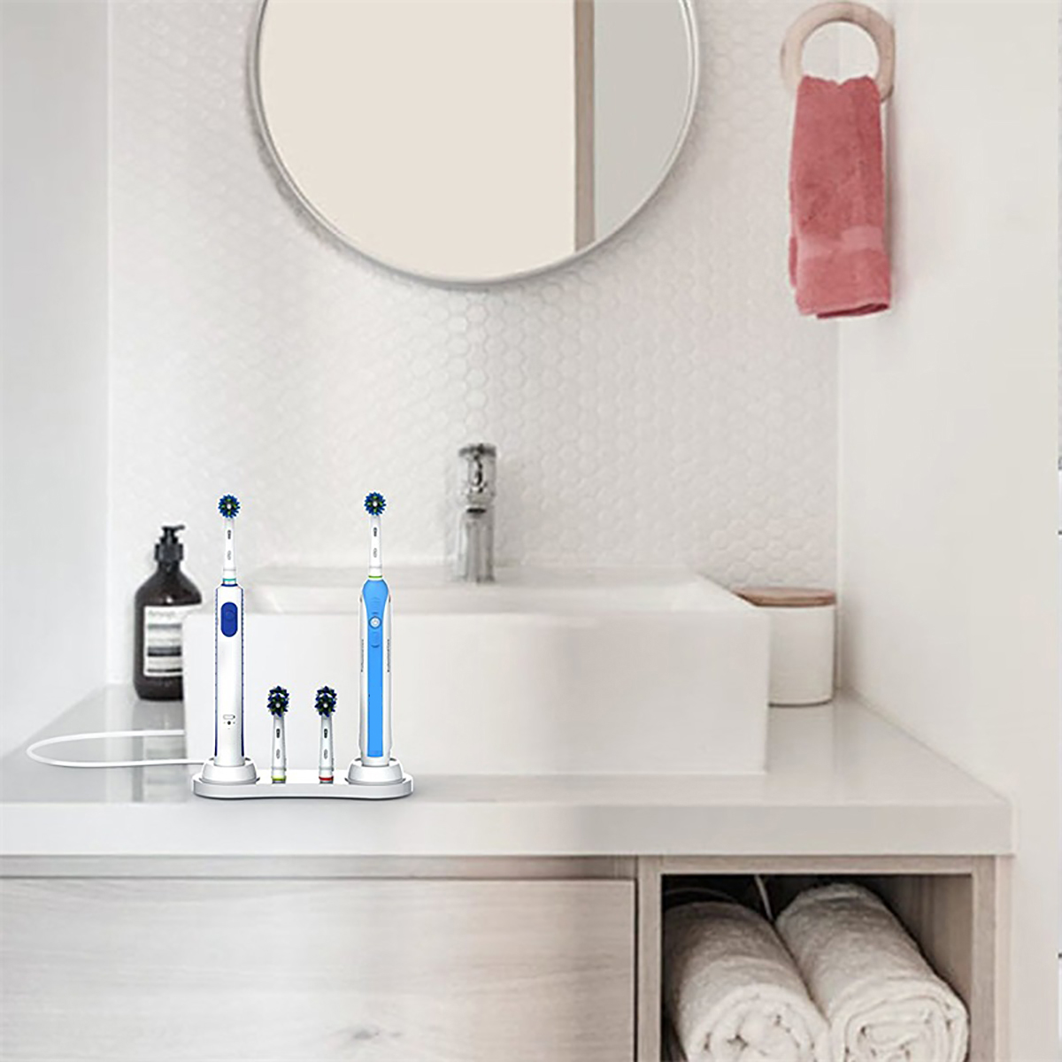 Electric Toothbrush Holder Charger Stand For Braun Oral-B