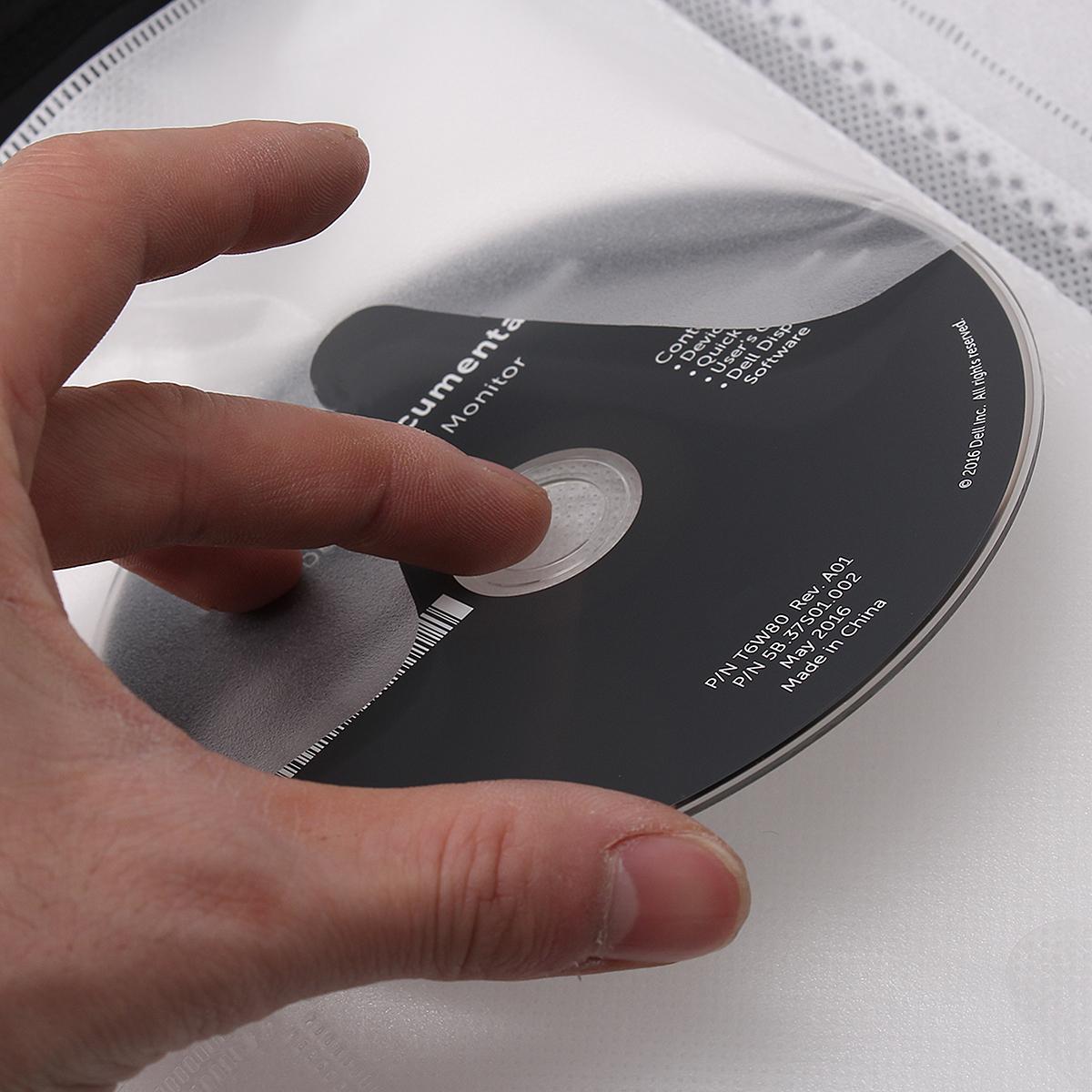 400 Discs CD DVD DJ Wallet Holder Bag Case Album Organizer Media Storage