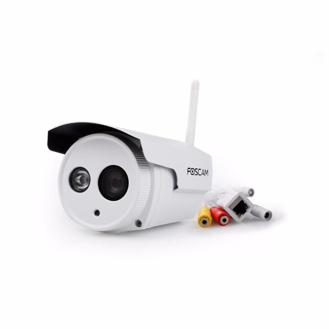 FOSCAM FI9803P 1.0 Megapixel HD 720P Wireless Outdoor Waterproof IP Camera P2P CMOS Night Vision 20m