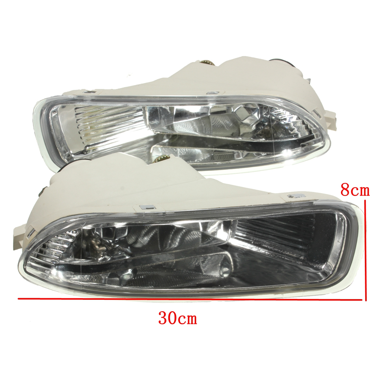 Pair Car Fog Driving Lights Lamps Left & Right Set for Toyota Corolla 2003-2004