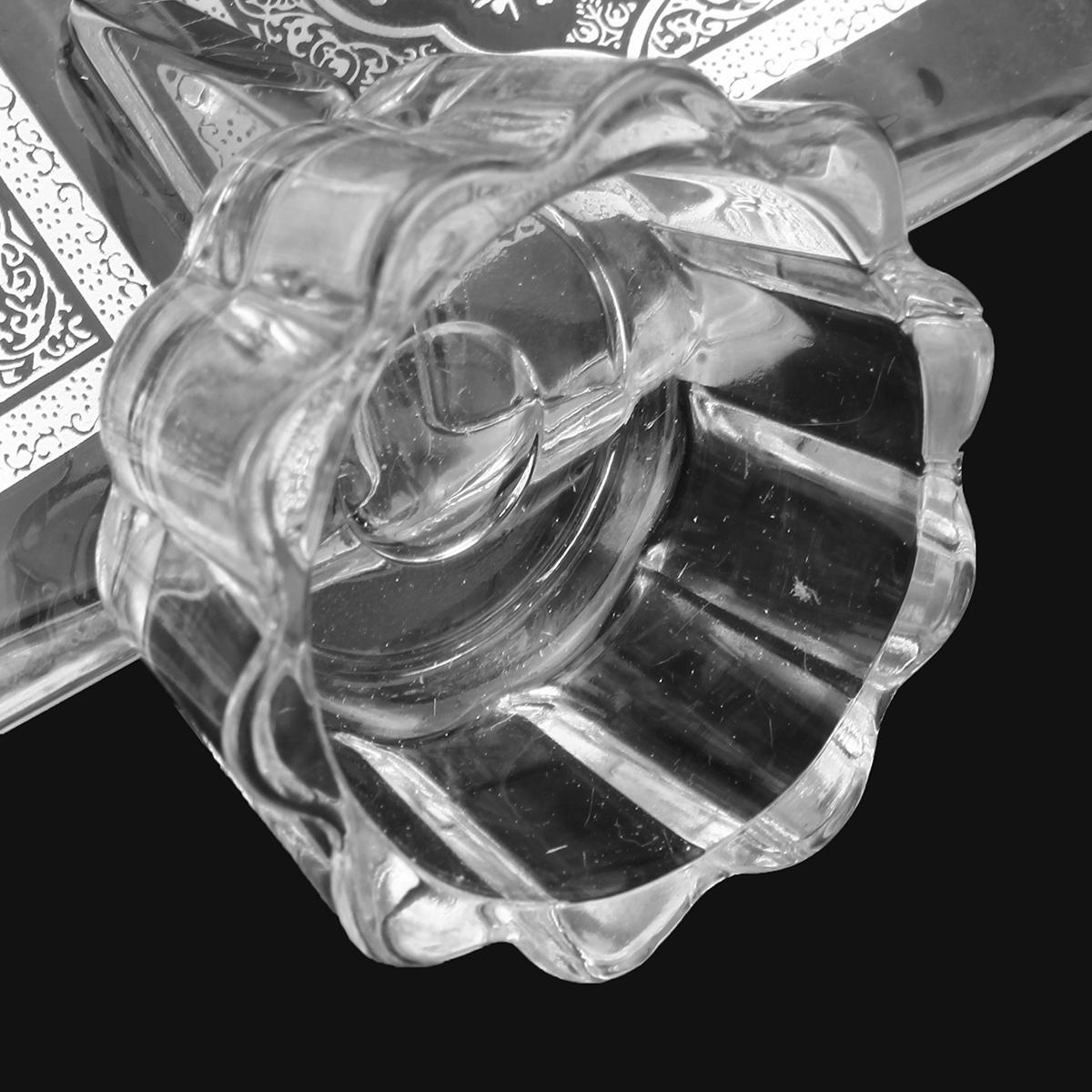 Statues & Sculptures Crystal Polishing Quran Book Clear Polish Ramadan Allah Islamic Eid Gift Decorations Scriptures Non-Ironing