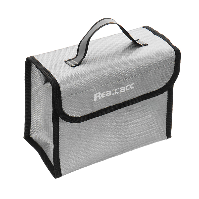 Realacc Fire Retardant LiPo Battery Pack Portable Safety Bag 215*155*115mm