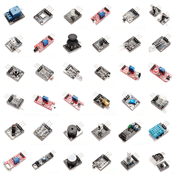 Geekcreit® 37 In 1 Sensor Module Board Set Starter Kits For Arduino