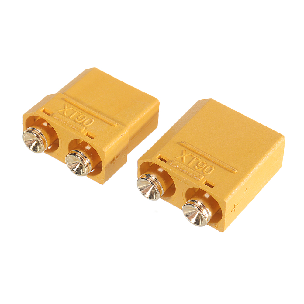 1Pair Amass XT90PB Plug Connector Adapter Plug for RC Model Lipo Battery - Photo: 4