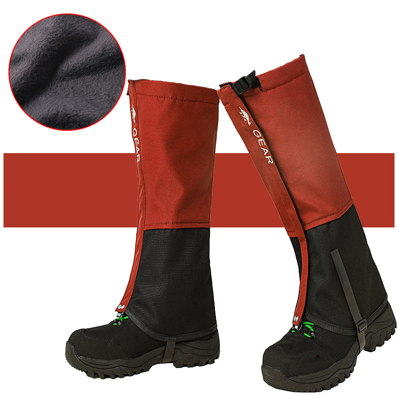 Outdoor Waterproof Winter Warm Gaiters Walking Boots Shoes Cover Sports Leggings Camping Hiking