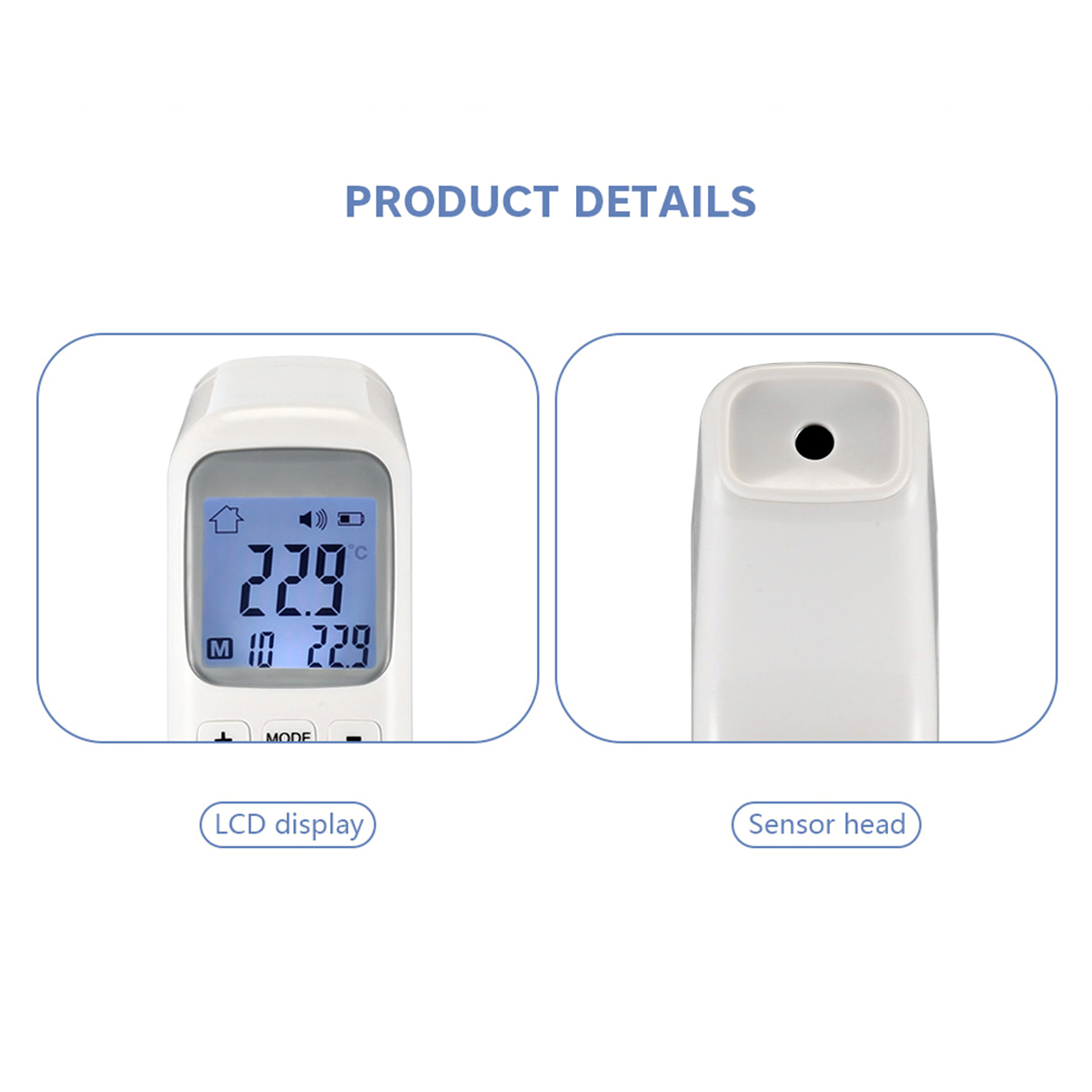 Digital Infrared Thermometers Temperature Ear Temperature