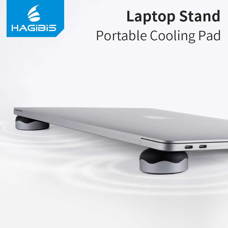 Xiaomi Hagibis 2PCS Powerful Magnetic Cooling Pad Desktop Stand Holder for MacBook Laptop Tablet