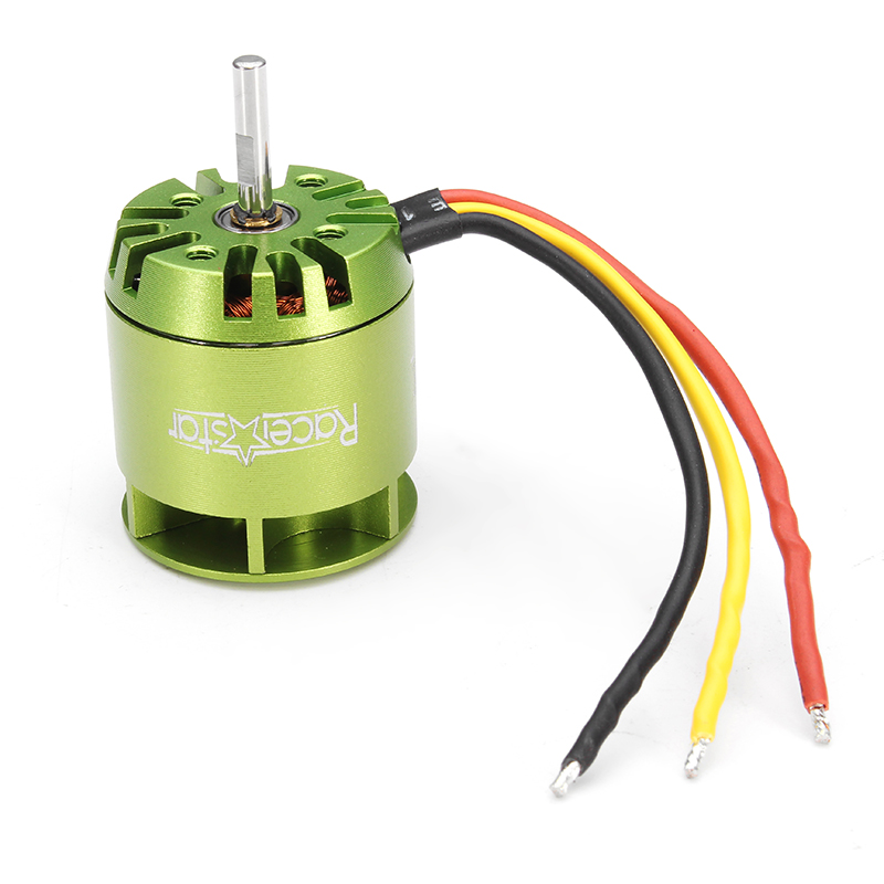 Racerstar KV4000 Outrunner Brushless Motor For Trex 450 RC Helicopter Green