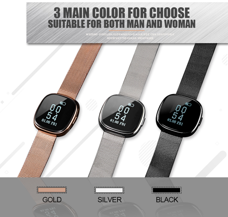 P2 Elegant Designed Heart Rate Monitor Smart Sport Bracelet