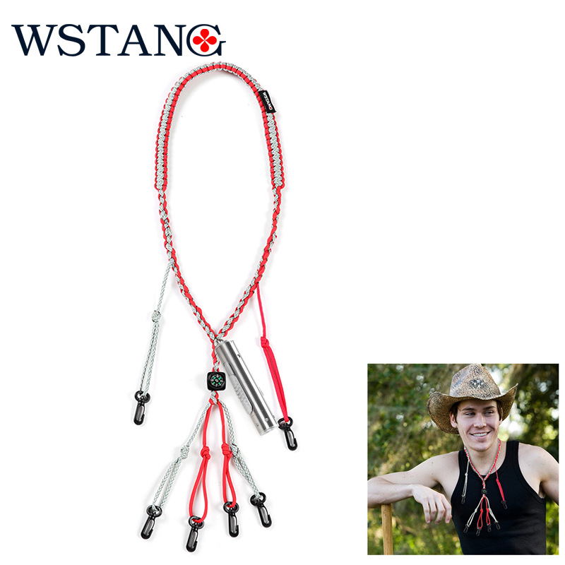 WSTANG 550 Sling Umbrella Rope Hunting Outdoor With Compass and Lighting LED Torch